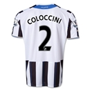 Newcastle United 13/14 COLOCCINI Home Soccer Jersey