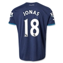 Newcastle United 13/14 JONAS Away Soccer Jersey