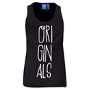 adidas Women's Originals Hand-Drawn Type Tank (Black)