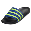 adidas adilette Sandal (Legend Ink/Electricity/True Blue)