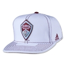 Colorado Rapids Flat Brim Snap Back Cap