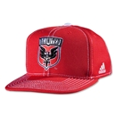 DC United Flat Brim Snap Back Cap