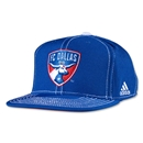 FC Dallas Flat Brim Snap Back Cap