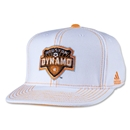 Houston Dynamo Flat Brim Snap Back Cap
