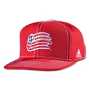 New England Revolution Flat Brim Snap Back Cap