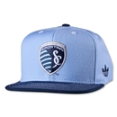 Sporting KC Originals Flat Brim Snap Back Cap