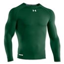 Under Armour Heatgear Sonic Compression LS T-Shirt (Dark Green)