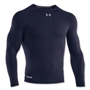 Under Armour Heatgear Sonic Compression LS T-Shirt (Navy)