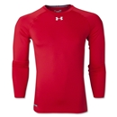 Under Armour Heatgear Sonic Compression LS T-Shirt (Red)