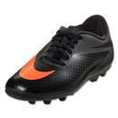 Nike Junior Hypervenom Phade FG-R (Dark Charcoal/Total Crimson/Black)