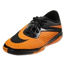 Nike Junior Hypervenom Phelon IC (Black/Black/Dark Citrus)