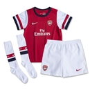 Arsenal 13/14 Kid's Home Soccer Kit