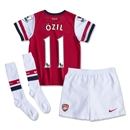 Arsenal 13/14 OZIL Kids Home Kit