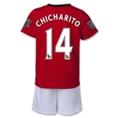 Manchester United 13/14 CHICHARITO Kids Home Kit
