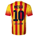 Barcelona 13/14 MESSI Away Soccer Jersey