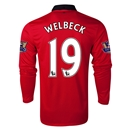 Manchester United 13/14 WELBECK LS Home Soccer Jersey