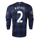 Manchester United 13/14 RAFAEL LS Away Soccer Jersey