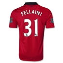 Manchester United 13/14 FELLAINI Home Soccer Jersey