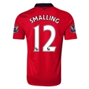 Manchester United 13/14 SMALLING Home Soccer Jersey