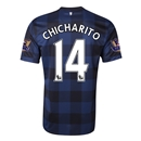 Manchester United 13/14 CHICHARITO Away Soccer Jersey