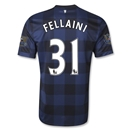 Manchester United 13/14 FELLAINI Away Soccer Jersey