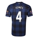 Manchester United 13/14 JONES Away Soccer Jersey