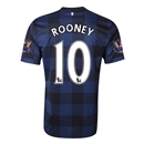 Manchester United 13/14 ROONEY Away Soccer Jersey