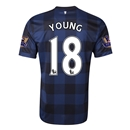 Manchester United 13/14 YOUNG Away Soccer Jersey
