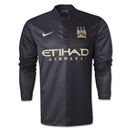 Manchester City 13/14 LS Away Soccer Jersey