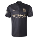Manchester City 13/14 UCL Away Soccer Jersey