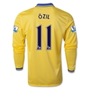 Arsenal 13/14 OZIL LS Away Soccer Jersey