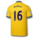 Arsenal 13/14 RAMSEY Away Soccer Jersey