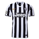 Juventus 13/14 UCL Home Soccer Jersey