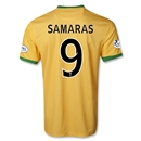 Celtic 13/14 SAMARAS Away Soccer Jersey
