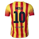 Barcelona 13/14 MESSI Youth Away Soccer Jersey