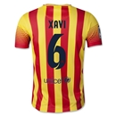 Barcelona 13/14 XAVI Youth Away Soccer Jersey