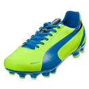PUMA evoSPEED 4.2 FG (Fluo Yellow/Brilliant Blue/Black)