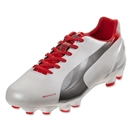 PUMA evoSPEED 3.2 FG (Metallic White)