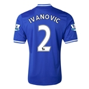 Chelsea 13/14  2 IVANOVIC Home Soccer Jersey