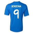 Real Madrid 13/14 BENZEMA Away Soccer Jersey