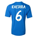 Real Madrid 13/14 KHEDIRA Away Soccer Jersey
