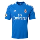 Real Madrid 13/14 UCL Away Soccer Jersey