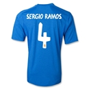 Real Madrid 13/14 SERGIO RAMOS Away Soccer Jersey