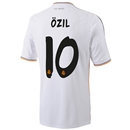 Real Madrid 13/14 OZIL Home Soccer Jersey