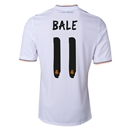 Real Madrid 13/14 BALE Home Soccer Jersey