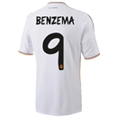 Real Madrid 13/14 BENZEMA Home Soccer Jersey