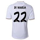 Real Madrid 13/14 DI MARIA Home Soccer Jersey