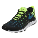Nike Free Trainer 5.0 NRG Running Shoe (Volt/Black/Current Blue)