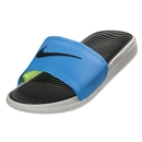 Nike Benassi Solarsoft Slide (Blue Hero/Light Bone/Black)