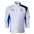 Italy FIGC Double Cloth Woven Jacket